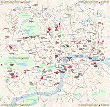Washington Dc Walking Map by Maps Update 21051488 Printable Tourist Map Of London Attractions