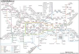 Santiago Metro Map by London Tube Map London Underground Map