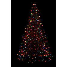 7ft Artificial Christmas Tree With Lights by Home Accents Holiday 7 5 Ft Pre Lit Led Wesley Spruce Quick Set