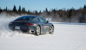 learning the unnatural at porsche u0027s camp4 winter driving