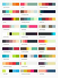 reference of pltts me favorite color palettes