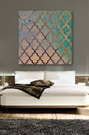 Design Wall Art Painted Wallpaper A Tutorial Painted Wallpaper Stenciling And