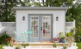 How To Build A Small Backyard Storage Shed by Build Your Own She Shed