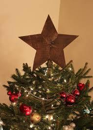 monogram tree topper primitive christmas tree toppers