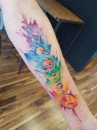 solar system pride flag by ali at serpents ink gold coast qld