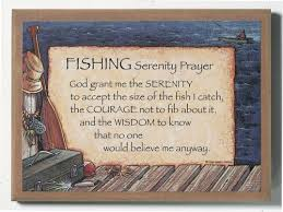 serenity prayer picture frame fishing serenity prayer plaque