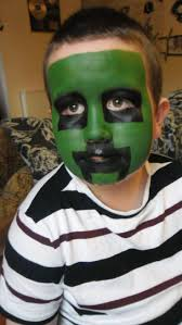 cool face painting for halloween 35 best face paint creeper images on pinterest face paintings