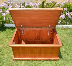 storage bench wooden storage bench forever redwood