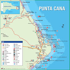 Map With Oceans Where Is Punta Cana Punta Cana Map