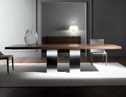 Italian Dining Room Table Nella Vetrina Costantini Pietro Soho 9111 Modern Italian Dining Table