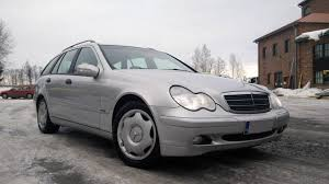 my first mercedes a w203 with om612 and manual transmission