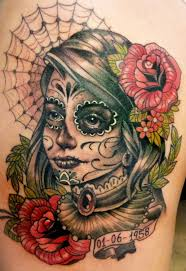 day dead face of tattoo the sugar skull 40 day of the dead