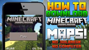 Maps For Ios 0 10 5 How To Get Maps For Minecraft Pocket Edition No