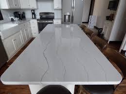 Kitchen 24 by White Quartz Countertops Creative Surfaces Blog