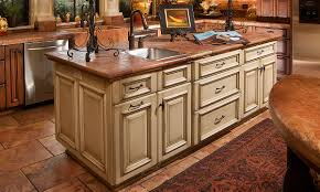 Cherry Wood Kitchen Cabinets Decoration Ideas Cozy Dark Brown Wooden Kitchen Island In