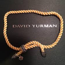 cord rope bracelet images New authentic david yurman silk cord bracelet poshmark jpg