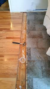 transition in wood floor searchoak strips timber