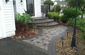 Walkway Ideas For Backyard by Maryland Patio Pavers Sidewalks Driveways Set In Stone Prince
