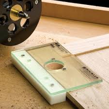 Cabinet Door Hinge Jig Rockler Concealed Hinge Router Jig It Rockler Woodworking And