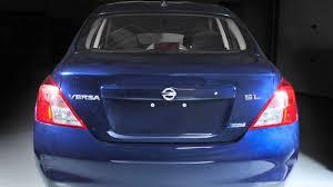 nissan versa blue 2009 2013 nissan versa sedan trunk release youtube