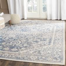 skillful blue and gray rugs fresh design safavieh patina grayblue