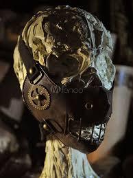 steunk masquerade mask steunk masquerade mask black stitching gears