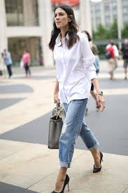fashionable ways to style a button down shirt popsugar fashion