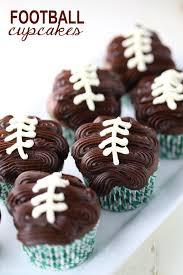 football cupcakes football cupcakes baking