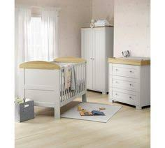 Grey Nursery Furniture Sets Mothercare Lulworth 3 Nursery Furniture Set Classic White