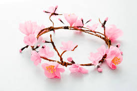 cherry blossom flowers how to make a cherry blossom flower crown brit co
