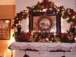 houses christmas house decoration fireplace pictures for desktop