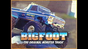 bigfoot 1 original monster truck traxxas
