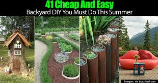 Backyard Easy Landscaping Ideas by Cheap And Easy Backyard Landscaping Ideas