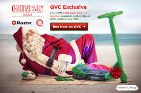 e100 glow lights up the qvc in july sale razor