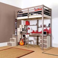 bureau superposé lit superpose avec bureau lit mezzanine avec bureau ado with lit