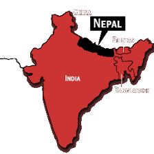 map of nepal and india national geographic trekking nepal himalayan travelogue