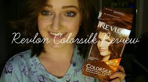 review on revlon colorsilk hair dye youtube