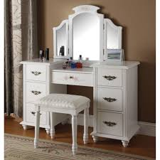 mirror vanity set with lighted makeup and bedroom sets interalle com