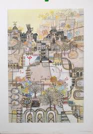skaters fine art lithograph on premium quality heavy weight