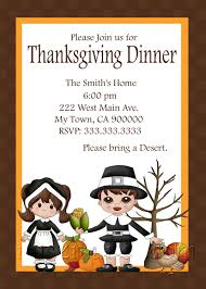 thanksgiving card for kids cute thanksgiving invitation card for dinner with little kids