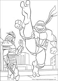 ninja turtles coloring pages free kids