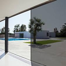 Mirror Film For Walls Amazon Com Privacy Residential Heat Control One Way Mirror Film