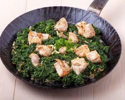 cuisiner epinards recette epinards au poulet