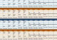 free weekly schedule templates for excel u2013 smartsheet pertaining