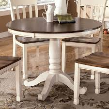 ashley kitchen table set amazing ideas ashley furniture round dining table stunning design