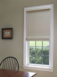 Blinds For Windows With No Recess - cordless fauxwood blind blinds com