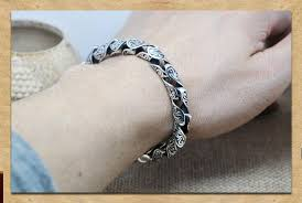 sterling silver bracelet men images S925 solid silver 100 real pure 925 sterling silver bracelets men jpg