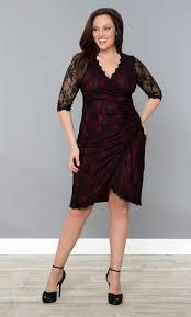 gigi lace faux wrap cinch cocktail dress u2013 black lace burgundy