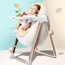 chaise pour bébé poche petit château enfants manger chaise portable en plastique