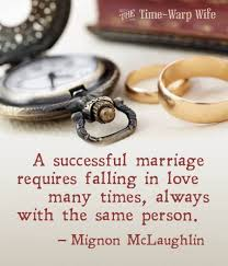 successful marriage quotes marriage quotes by mignon mclaughlin quotesta